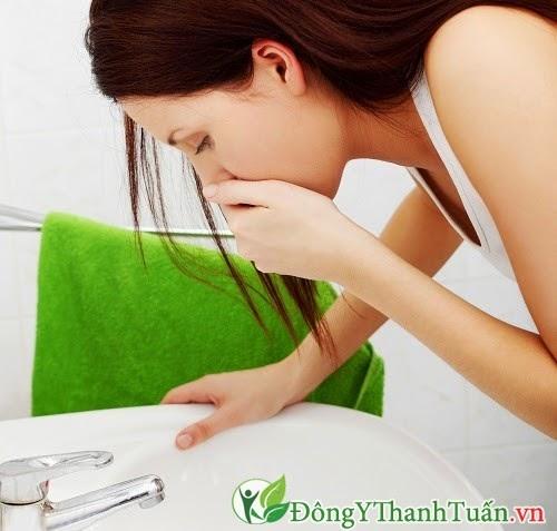 Buồn nôn -  Triệu chứng của bệnh trào ngược dạ dày thực quản