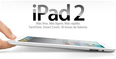 iPad 2 Apple tablet