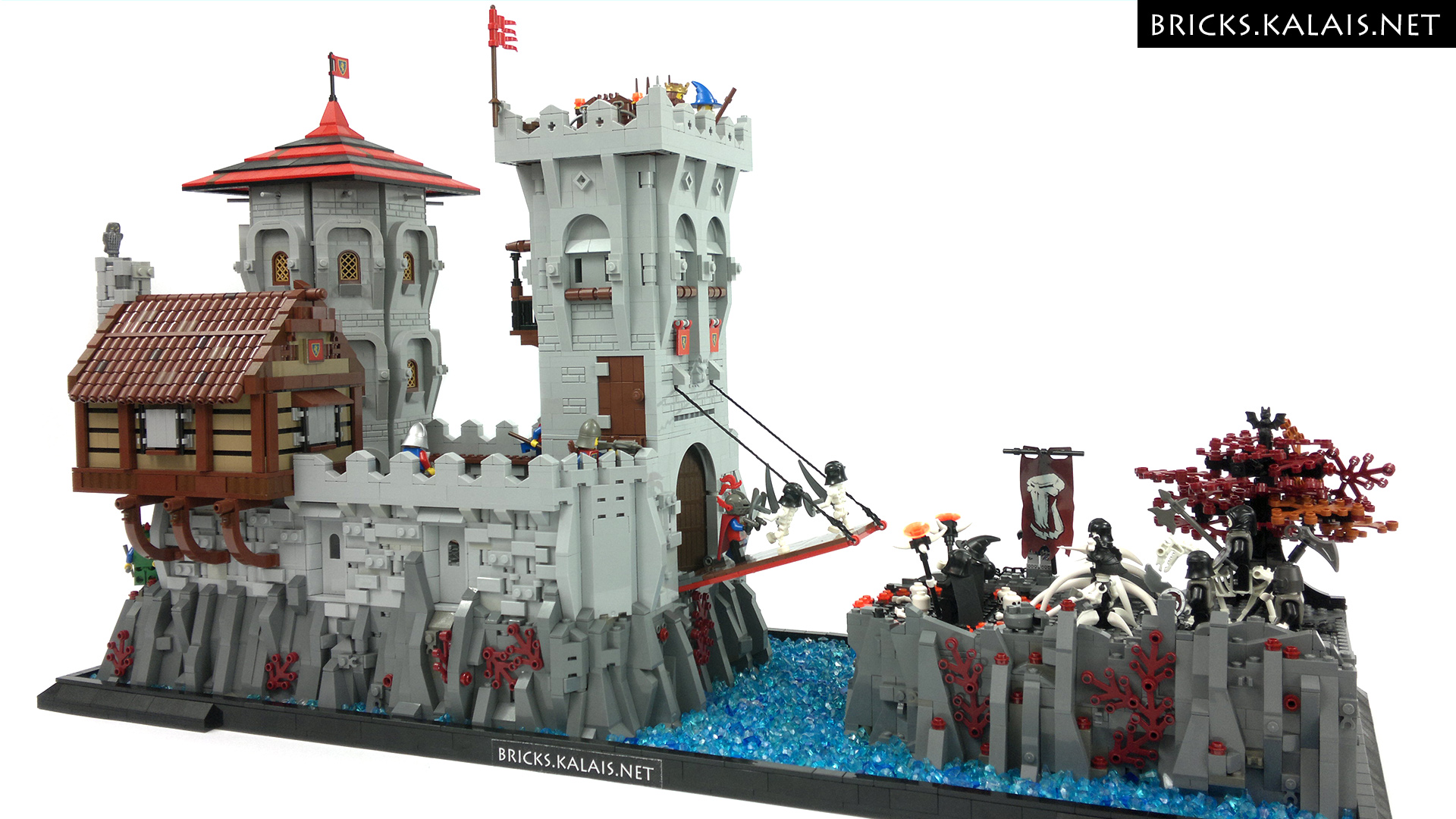 moc undead fall is  ing to the lion knights   bricks treasure   lego blog