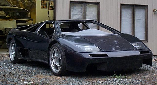 Zoom in Cars: Fiero-Based Lamborghini Diablo Replica with