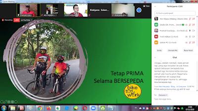 Poetoet Soedarjanto (Ketua Bike to Work Indonesia)