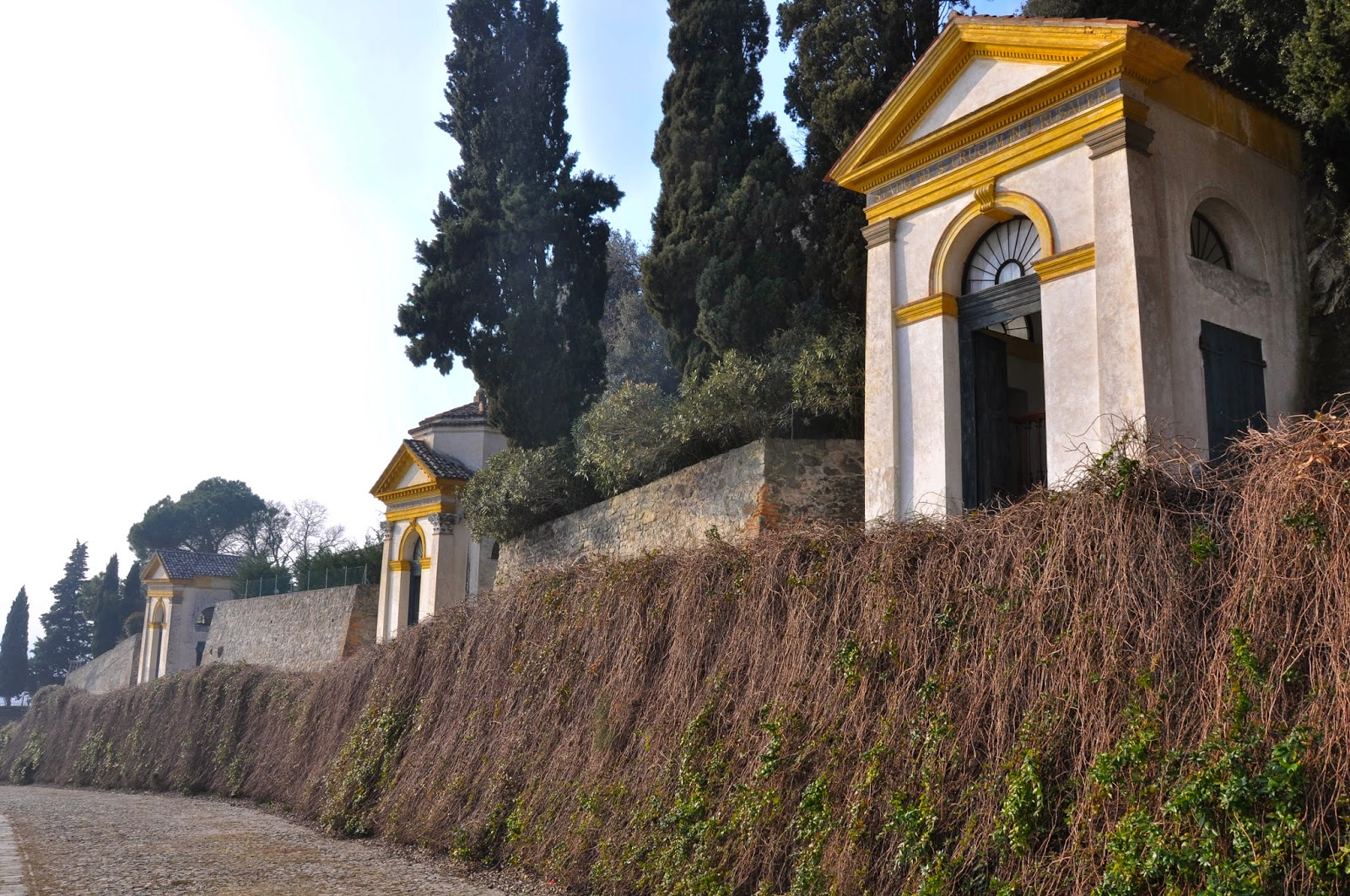 The Seven Churches Sanctuary in Monselice, Euganean Hills, Veneto, Italy - www.rossiwrites.com