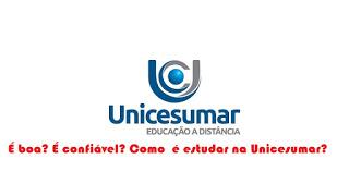 UniCesumar EAD é boa? É confiável? Como é estudar na UniCesumar? à distância online faculdade graduação pós-graduação