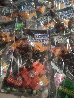 Transformer Birthday Party Goodie Bags Crayon