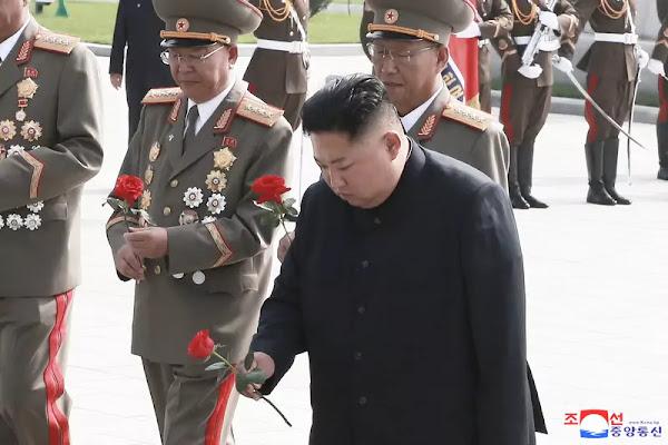 (1) Kim Jong Un visits war martyrs cemetery