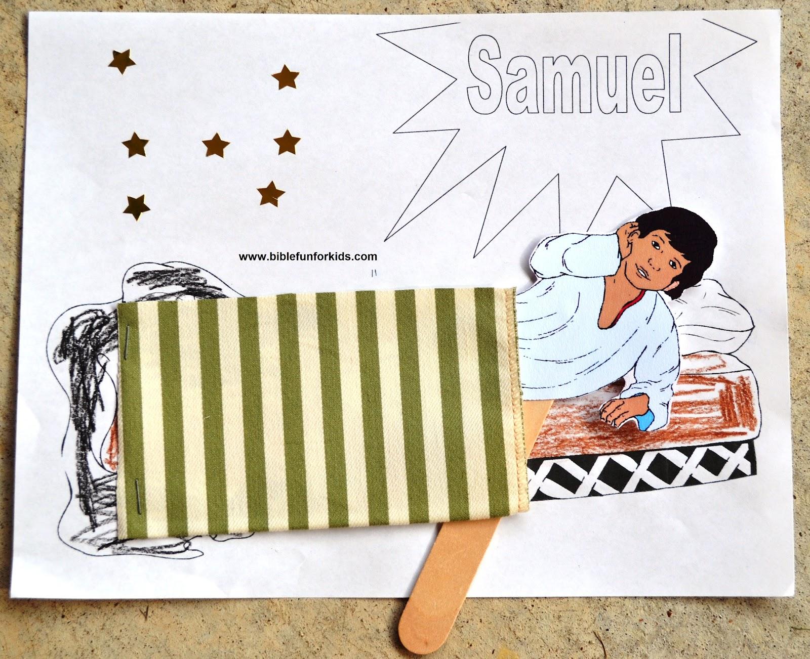Bible Fun For Kids Samuel Preschool Projects