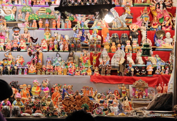 Dasara Dolls at Exhibition