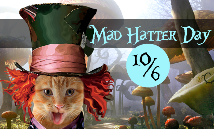 National Mad Hatter Day Wishes Pics
