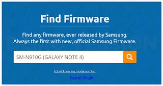 Flash Stock ROM Samsung GALAXY NOTE 4 DUOS SM-N910G