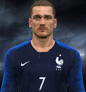 PES 2017 Faces Antoine Griezmann by Facemaker Huseyn