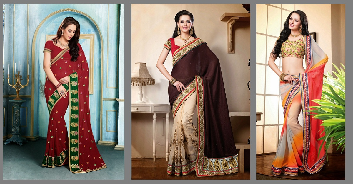 Indian Wedding Sarees – The Options Available Online at Moksha Fashions