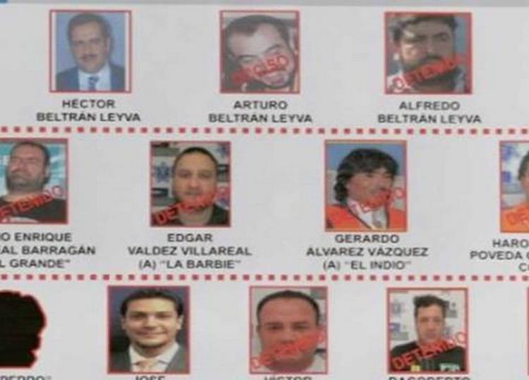 Las 7 bandas criminales que se repartieron el imperio de los Beltrán Leyva