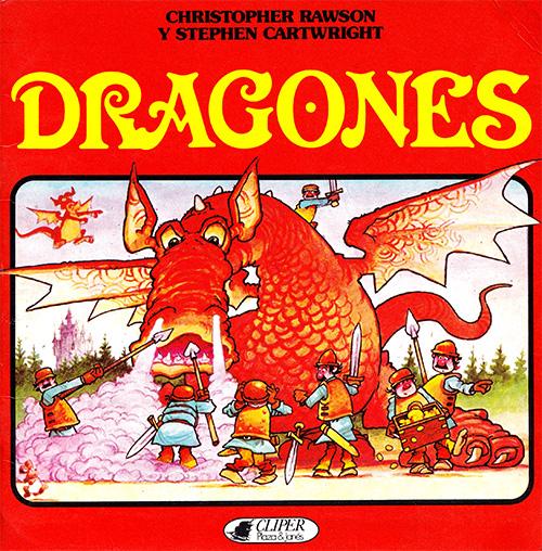 Libros Cliper de Relatos tradicionales Dragones