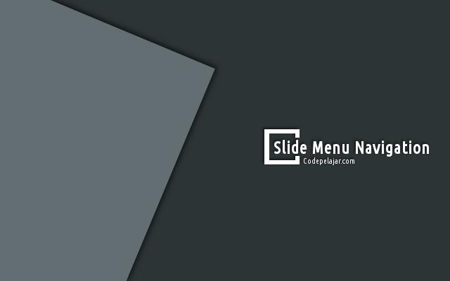 Membuat Slide Menu Simpel Responsive di Blog