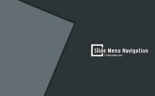 Membuat Slide Menu Simpel Responsive di Blog