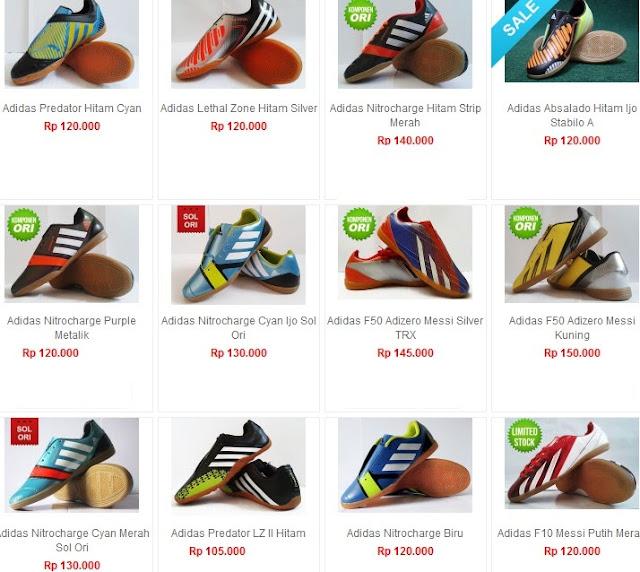 Daftar Harga Sepatu Adidas Asli Terbaru