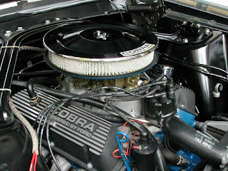 5. American Old Car V8 Engines Shelby Mustang GT350