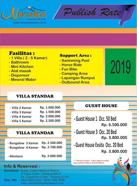 Harga Villa ll Visitciaterhighandresort.com
