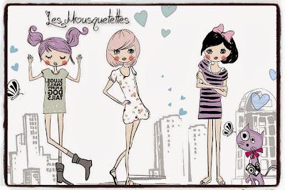 Logo Les Mousquetettes©  un blog beauté pas comme les autres !