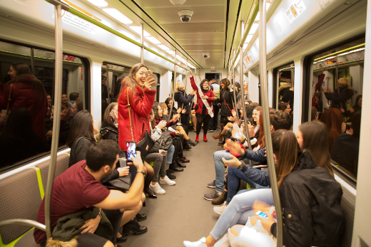 Metrovalencia ofrecerá por primer vez servicio de metro y tranvía durante Nochevieja