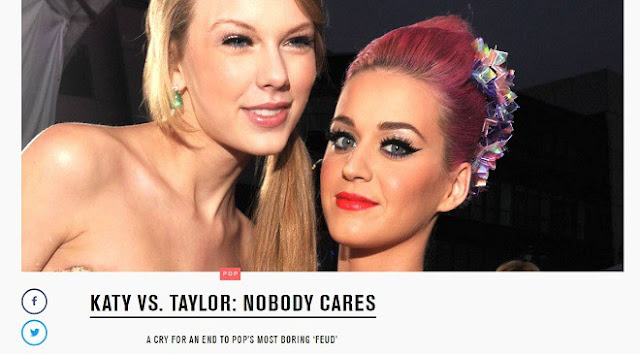 MTV critica pelea entre Taylor Swift y Katy Perry