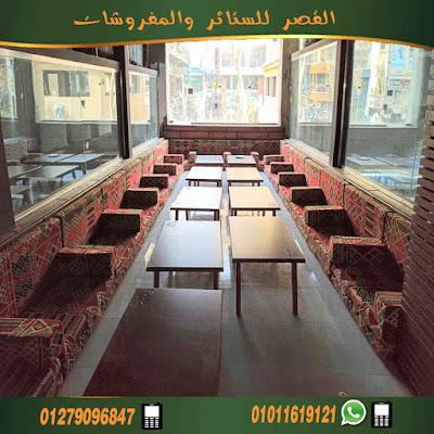 مجلس عربي حديث  قعدة عربي بأحدث مطاعم مدينة اكتوبراحمر مشجر     من احدث انتاجنا