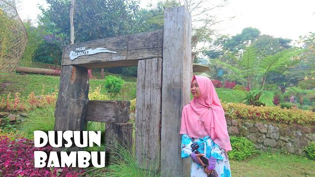 Wisata Alam Dusun Bambu di Lembang Bandung