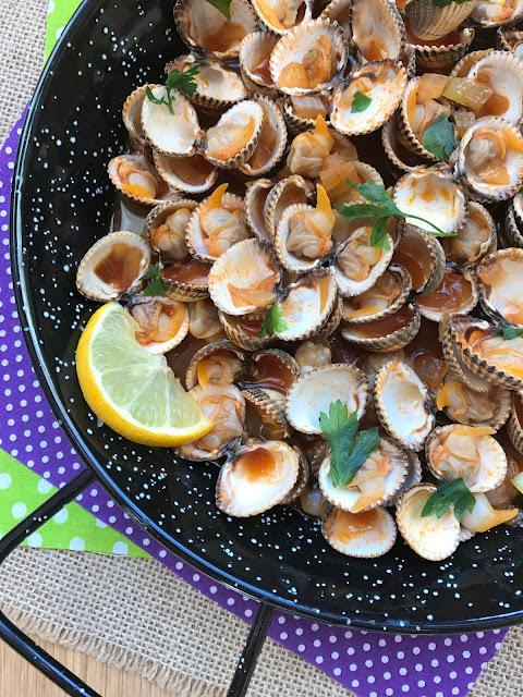berberechos bloody mary receta