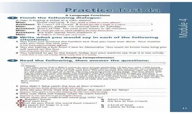 امتحانات الورك بوك باجاباتها النموذجية للصف الثالث الاعدادى الترم الثانى امتحانات كتاب النشاط (الورك بوك) تالتة اعدادى ترم تانى