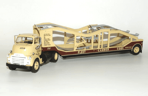 gmc 950 coe 1:43 fleet carrier corp, camiones 1:43, camiones americanos 1:43, coleccion camiones americanos 1:43, camiones americanos 1:43 altaya españa