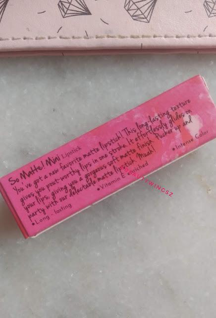 Nykaa So Matte! Mini Lipstick 20 M Caramel Margarita Review ,Swatches ,Price