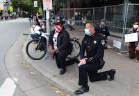 Le maire et le chef de la police de Santa Cruz