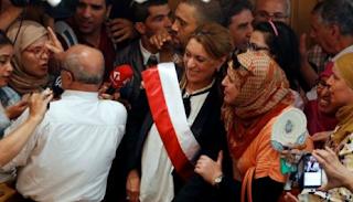 إنتخاب إمرأة عمدة لمدينة تونس