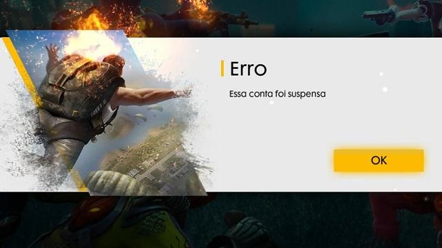 ESSA CONTA FOI SUSPENSA: COMO TIRAR BAN DO FREE FIRE (IMEI)