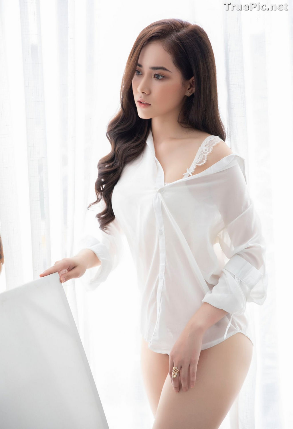 Image Vietnamese Model - Hot Beautiful Girls In White Collection - TruePic.net - Picture-9