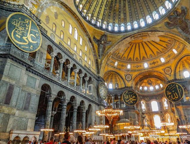 Basílica de Santa Sofia, Istambul, Turquia