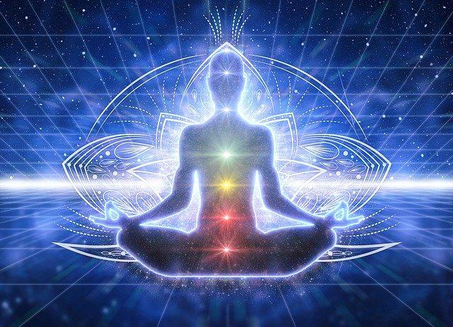 Dhyana Yoga (meditation) for soul awakening.