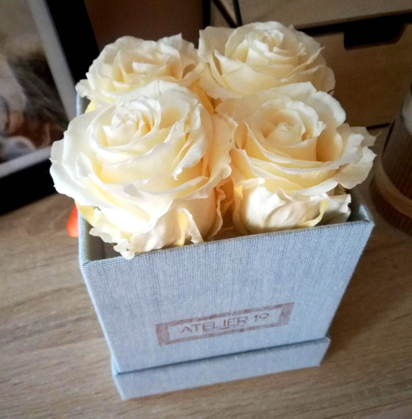Les Roses Eternelles Parfumées ATELIER 19