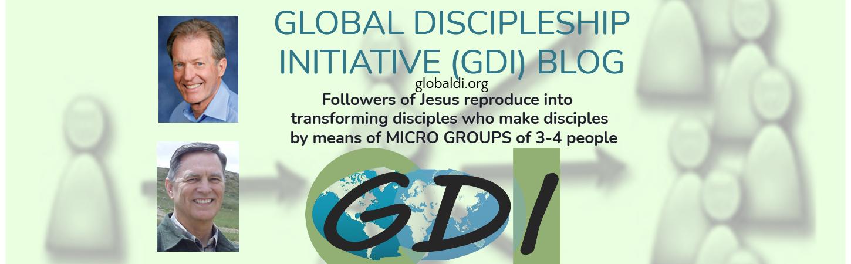Global Discipleship Initiative (GDI) - Greg Ogden