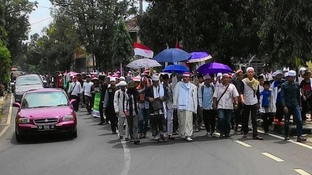 Dari Kuba, Jaya Suprana Menangis Menyaksikan Long March Ciamis-Jakarta