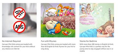Saregama Carvaan Mini Kids Features