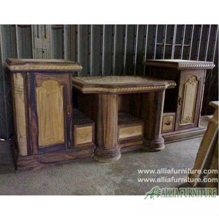 Buffet Meja tv kayu jati jepara model BCA