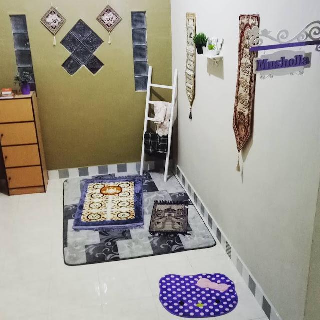 Mushola Dalam Rumah Mungil Terbaru