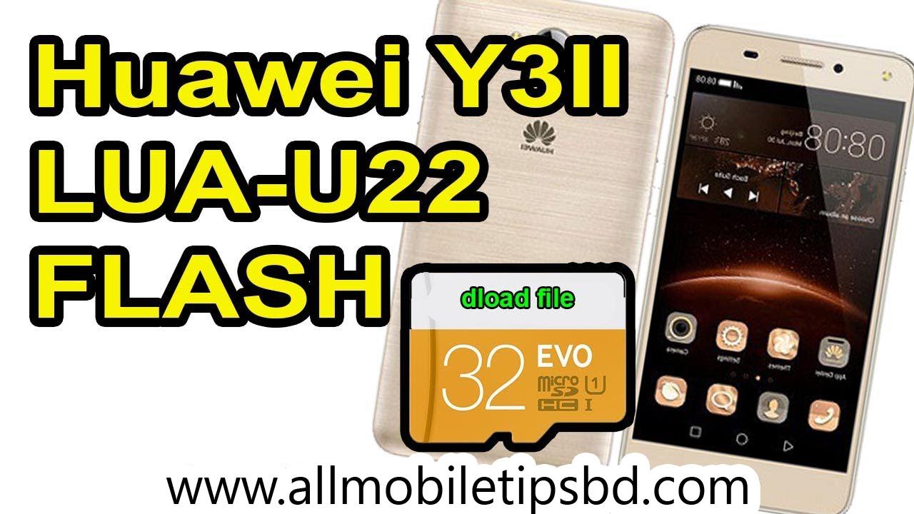 Huawei LUA-U22 SD Card Update Flash File Tested 100% Dload Folder