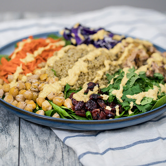 Sweetgreen Curry Chickpea Salad