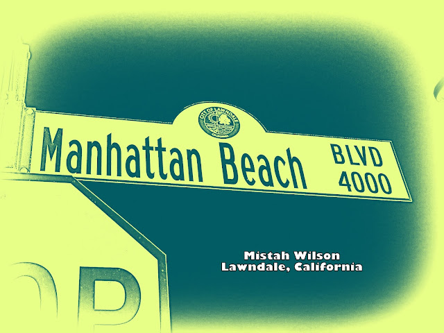 Manhattan Beach Boulevard, Lawndale, California by Mistah Wilson