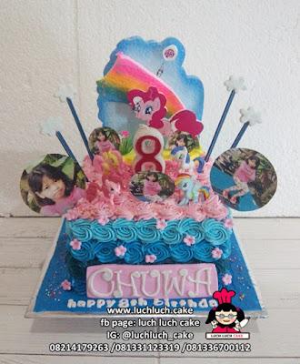 Kue Tart My Little Pony Buttercream Mainan