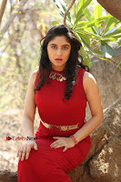 Telugu Actress Zahida Sam Latest Pos in Red Gown at RF Films New Movie Opening  0241.JPG
