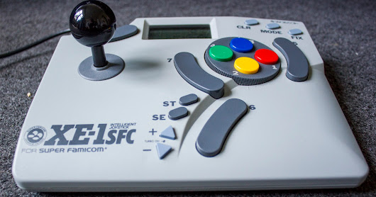 REVIEW: Dempa Micomsoft XE-1 SFC Intelligent Joystick for Super Famicom (SNES)
