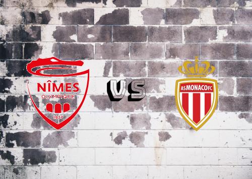 Nîmes vs AS Monaco  Resumen